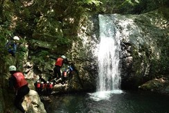 Canyoning tour down NIIKO Kinu river